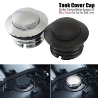Flush Gas Cap Fuel Oil Tank Cover Reservoir for Harley XL883/1200 Softail Dyna