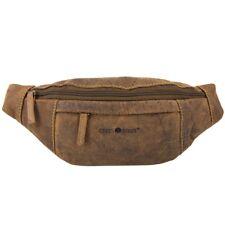 Greenburry Vintage Rindleder Gürteltasche Bauchtasche Doggybag Waistbag 1743A-25