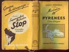 GUIDE MICHELIN. PYRENEES CÔTE D'ARGENT 1934-1935 + JAQUETTE.