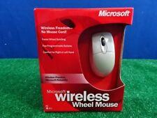 Microsoft Wireless wheel mouse WIN32 PS/2 - New Open Box