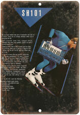 "SH101 Keyboard Synthesizer Vintage Ad 10"" x 7"" Reproduction Metal Sign E16"
