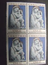 US Postage Stamps 1985 Madonna and Child Traditional Christmas #2165   4-22c