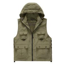 Waterproof Multi Pocket Waistcoat Fishing Travelling Photography Detachable Vest