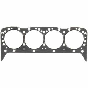 """1 PAIR Fel-Pro 1094 SB Chevy Head Gasket Stainless Steel Shim 4.100"""" .015"""" Thick"""