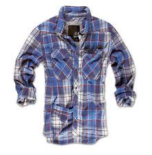 Camicie casual e maglie da uomo blu scacchi , quadretti l