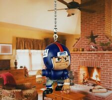 Football NFL New York Giants Lineman Ceiling Fan Pull Light Lamp Chain Decor