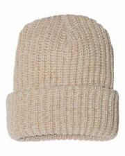 "Sportsman 12"" Chunky Knit Cap Hat SP90"