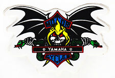 Skull & Bat Wings Yamaha Sticker Motorcycles