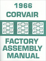 1966 Corvair and Monza Factory Assembly Manual Exploded Views Chevy Chevrolet