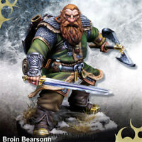 1/24 Broin Dwarf Resin Kits Unpainted Model GK Unassembled