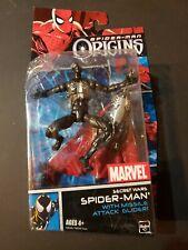 Marvel Origins Spiderman Secret Wars Black Suit  Action Figure Spider-man Hasbro