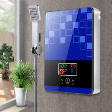 6500W Elektrisch Durchlauferhitzer Tankless Warmwasser Set Digital mit Duschkopf