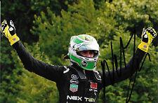 Nelson Piquet Jr SIGNED  Formula E  Champion Portrait , E-Prix London 2015