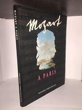 Mozart à Paris ouvrage dirigé par Nicole Salinger. Expo musée Carnavalet 1991/92