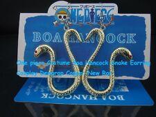 One piece Costume Boa Hancock Snake Earring Cosplay Dewgrop Copper New Rar