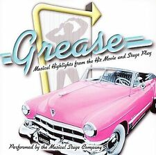 FREE US SHIP. on ANY 3+ CDs! ~Used,Good CD : Grease: Musical Highlights From the
