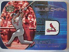 2002  FLEER FOCUS BLUE CHIPS ALBERT PUJOLS , CARDS !! BOX 4