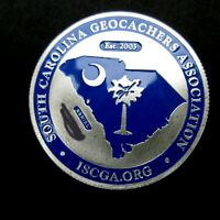 South Carolina Geocoin 2006 New Geocaching Coin NON-TRACKABLE
