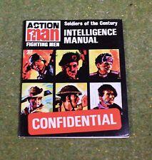 Vintage Action Man 40th manual confidencial soldados de inteligencia CENTURY