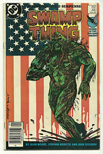 Swamp Thing 1986 #44 Fine/Very Fine Alan Moore