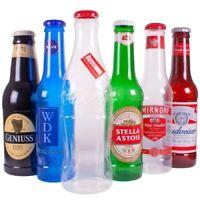 Gigante Vino Marcas Dinero Monedas Ahorros Plástico Botella Caja Olla Hucha