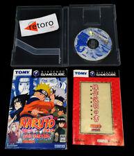 NARUTO GEKITOU NINJA TAISEN Nintendo Gamecube JAP GAME CUBE