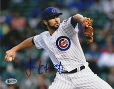 JAKE ARRIETA Signed Chicago CUBS 8x10 PHOTO w/ Beckett COA