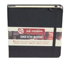 sketch book 12x 12cm 80 sheets 140gsm square drawing paper pad Talens