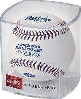 2020 MLB All‑Star Game Los Angeles Logo Baseball in Cubed Case Limited Edition