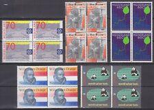kavel blokjes van 4 zegels 1984 (1) postfris (MNH)