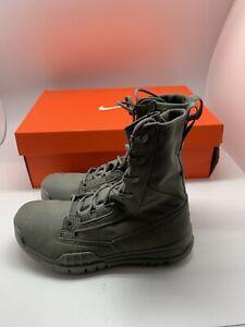 "Mens Nike SFB Field 8"" 631371-222 Sage/Sage Brand New Size 4"