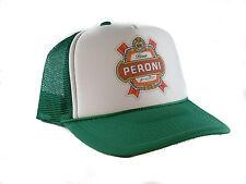 Vintage Peroni Beer Trucker Hat mesh hat snapback hat  green new