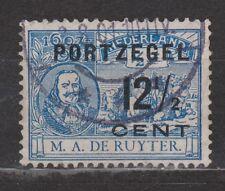 Port nr 39 a type 2 used NVPH Netherlands Nederland due portzegel 1907