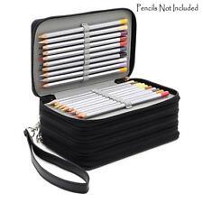 Pencils Case 4 Layers 72 Capacity Holder Large Drawing Pen Bag Storage Organizer