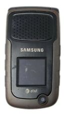 New listing Samsung Rugby ll Sgh-A847 Grey 3G locked At&T Cellular Phone Gsm 70 Mb 2.0Mp