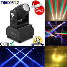 20W Sound Active RGBW LED Stage Lighting Moving Head Beam Light DMX Disco DJ KTV