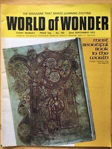 WORLD OF WONDER - TREASURE - #183 - 22 SEPTEMBER 1973 - BEAUTIFUL BOOK IN WORLD