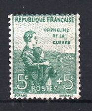 """FRANCE STAMP TIMBRE YVERT N° 149 """" ORPHELINS 5c + 5c VERT """" NEUF xx LUXE T262"""