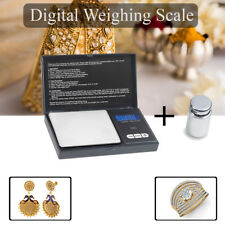 Mini Small Digital Pocket Scale 100g Calibration Weight & 0.01g - 100g Accuracy