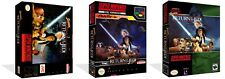 Super Star Wars: Return of the Jedi SNES Replacement Game Case Box  (No Game)