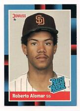 1988 Donruss Rookie HOF Roberto Alomar San Diego Padres #34
