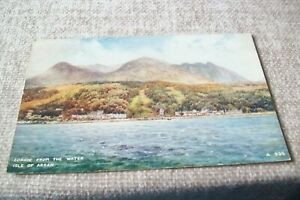 POSTCARD -- CORRIE FROM THE WATER , ISLE OF ARRAN