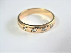 Ring Gold Of 585 with Diamonds,