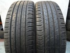 2x 195 55 20 **6.5mm** (FREE-FITTING!!!) Continental ECO Contact TYRES (R:352)