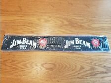 New Lot Of 4 Jim Beam Whiskey Bar Mat Rubber Man Cave Collectible