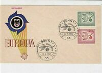 germany 1965 europa stamps cover ref 20255