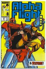 ALPHA FLIGHT #53 Dec 1987 9.6 NM+ WOLVERINE App BEDLAM Jim LEE Cover &Art MARVEL