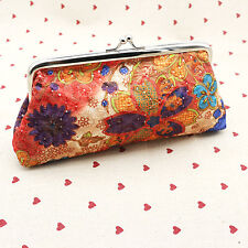 Small Wallet Girl Women Change Coin Purses Hasp Clutch Cash Card Holder Handbags