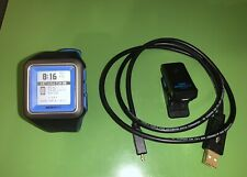 MetaWatch 86 Strata Olympian Blue App Based Smart Watch for iPhone With Clip