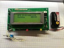 PIC 16F877A CONTROLLER PROJECT BOARD w/4-line LCD Display (includes spare micro)